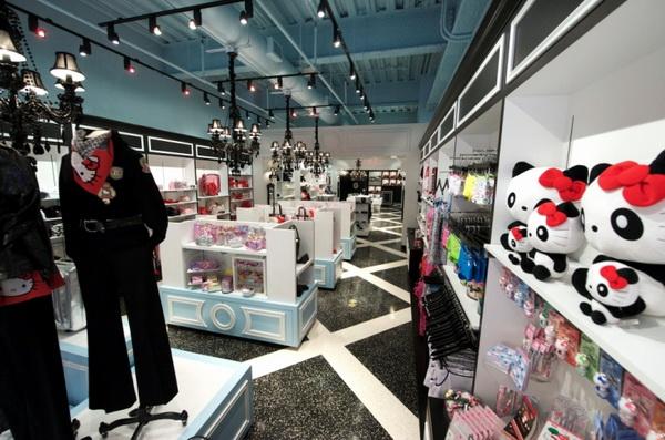 Sanrio Luxe 纽约精品店店面设计 饰品店设计 精品店设计 店面设计