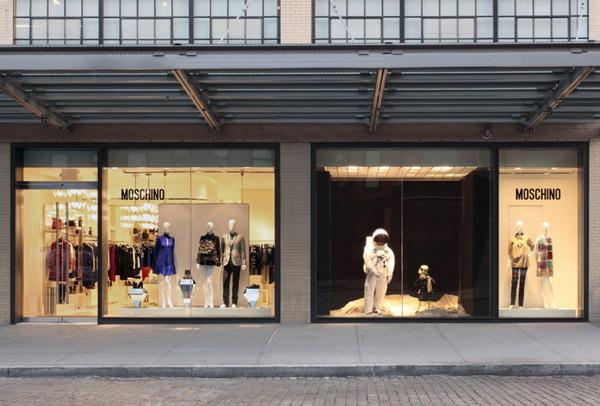 纽约莫斯奇诺 (Moschino)时装店面设计 精品店设计 店面设计 专卖店设计