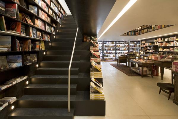 圣保罗独特的Livraria da Vila书店 商业空间设计 商业空间设计 书店设计