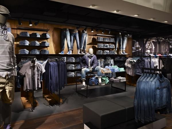 思捷(Esprit)纽约新形象店面设计 形象店设计 店面设计