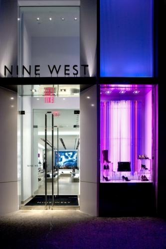 玖熙(Nine West)专卖店设计 鞋店设计 专卖店设计