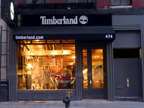 天伯伦(Timberland)休斯敦专卖店设计 店面设计 专卖店设计