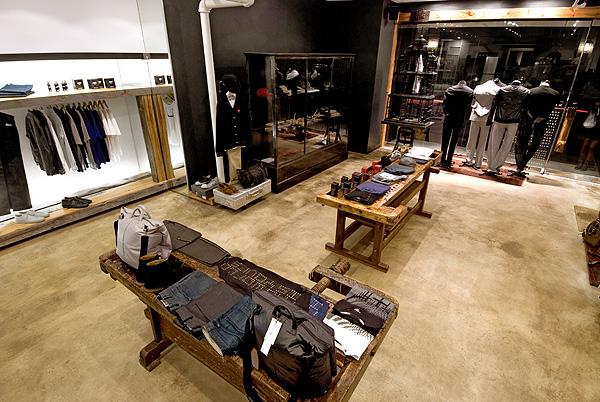 Nomad独树一帜服装专卖店设计 男装店设计 专卖店设计