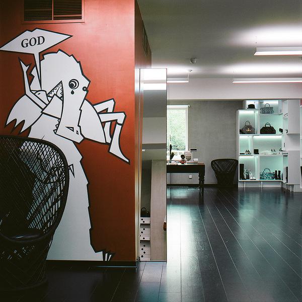独树一帜PRADA个性专卖店设计 鞋店设计 箱包店设计 皮具店设计 奢侈品店设计 专卖店设计