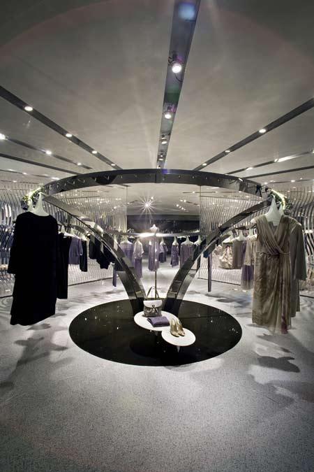 Alberta Ferretti拉斯维加斯旗舰专卖店设计 旗舰店设计 女装店设计 专卖店设计