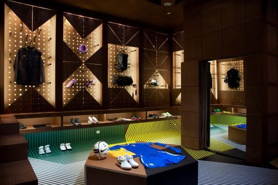 耐克(Nike Bowery Stadium)纽约创意展览设计 耐克店设计 展览设计 专卖店设计