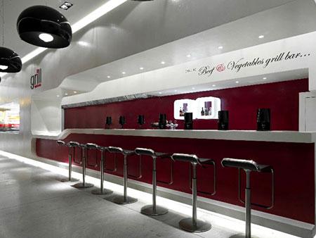 Grill X概念餐厅 商业空间设计 餐厅设计 概念店设计 商业空间设计