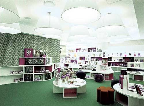 芭比上海(Barbie Shanghai)全球首家旗舰店面设计 饰品店设计 精品店设计 旗舰店设计 店面设计