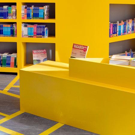 独特的斯德哥尔摩Vagabond书店 商业空间设计 商业空间设计 书店设计