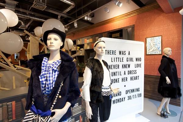别具一格的莫斯科Mood Swings专卖店设计 专卖店设计