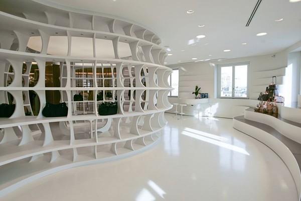 米兰ALV时尚大气的专卖店设计 箱包店设计 女装店设计 专卖店设计