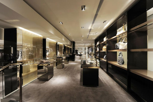 全新的Gucci新加坡Paragon旗舰店面设计 男装店设计 旗舰店设计 女装店设计 奢侈品店设计