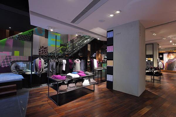 思捷(Esprit)香港概念店面设计 男装店设计 概念店设计 女装店设计