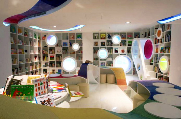 Poplar儿童图画书店(蒲蒲兰绘本馆) 商业空间设计 商业空间设计 书店设计