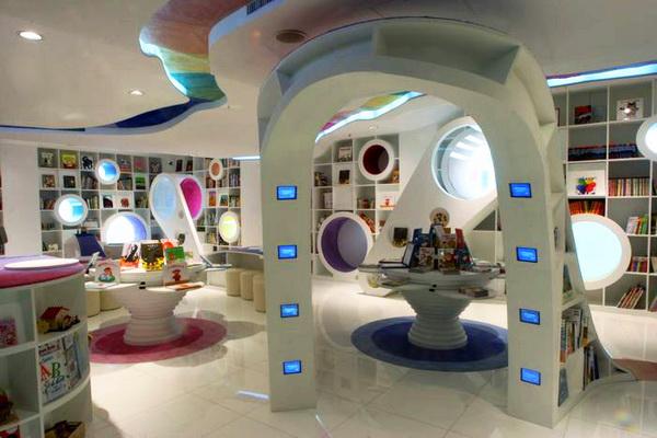poplar兒童圖畫書店(蒲蒲蘭繪本館)-商業空間設計