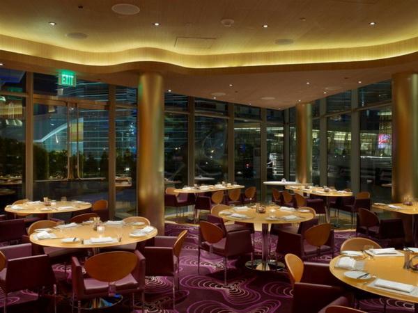 """拉斯维加斯""""Vdara""""酒店""""丝绸之路""""餐厅设计 餐厅设计 酒店设计"""