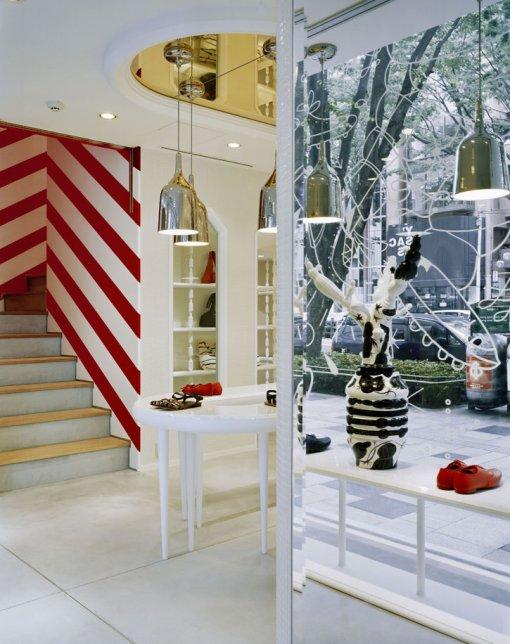 东京看步(Camper)休闲鞋专卖店设计 鞋店设计 专卖店设计
