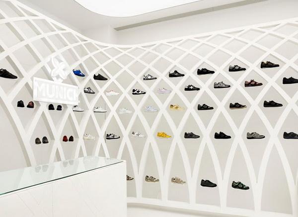 MUNICH时尚运动鞋专卖店设计 鞋店设计 专卖店设计