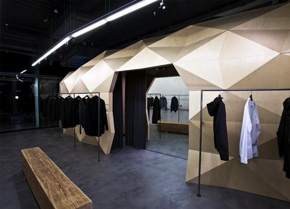 巴塞罗那Lurdes Bergada服装专卖店设计 店面设计 专卖店设计