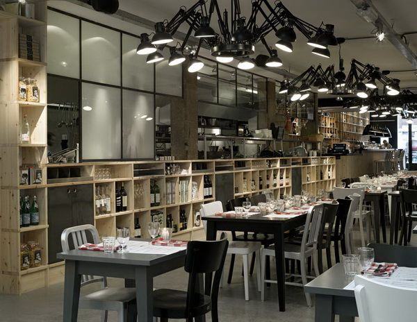 荷兰阿姆斯特丹Mazzo餐厅 商业空间设计 餐厅设计 商业空间设计