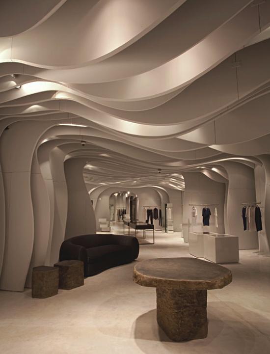越南Runway精品服装店面设计 精品店设计 概念店设计 店面设计