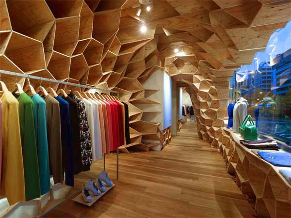 日本大阪Lucien Pellat Finet服装店面设计 店面设计 专卖店设计