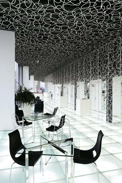 三里屯SOHO售楼处 商业空间设计 售楼处设计