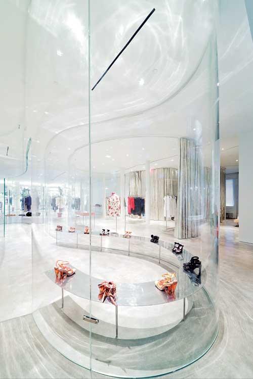纽约简洁灵动的Derek Lam服装店面设计 精品店设计 店面设计