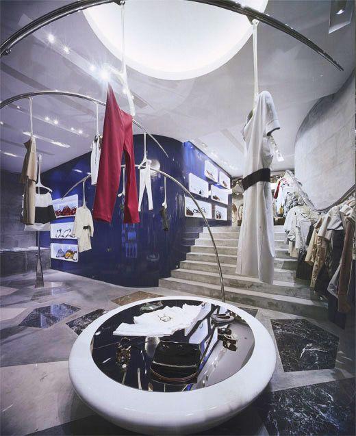 意大利服装品牌Marni东京旗舰店面设计 精品店设计 旗舰店设计 店面设计