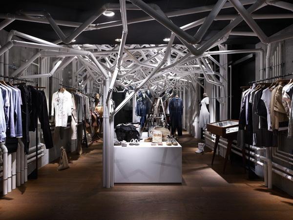 东京青山Diesel限量产品展厅 商业空间设计 概念店设计 展厅设计 商业空间设计