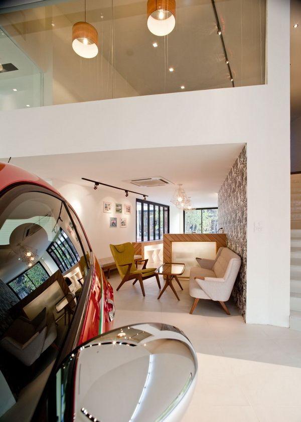 泰国曼谷Autostella汽车展厅 商业空间设计