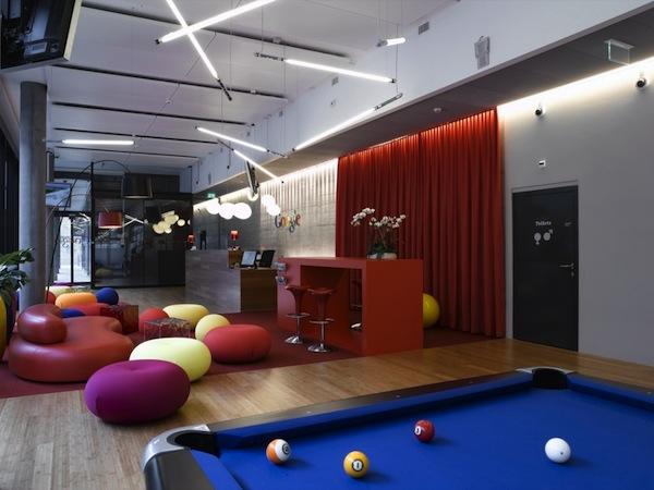 Google苏黎世办公空间设计 办公空间设计 办公室设计