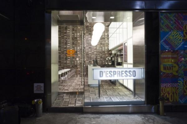 纽约独特的迷你D'espresso 咖啡店设计 商业空间设计 咖啡店设计