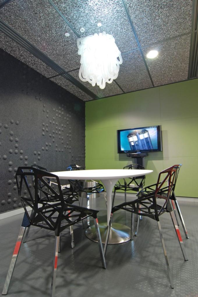 英国广播公司BBC办公空间设计 办公空间设计
