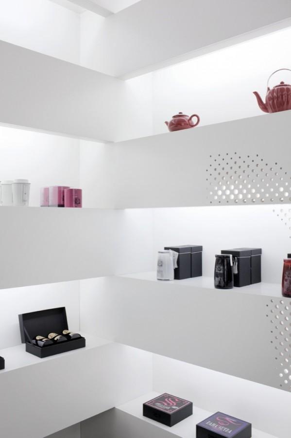 清新淡雅的T Magi茶叶店面设计 茶叶店设计 精品店设计 店面设计