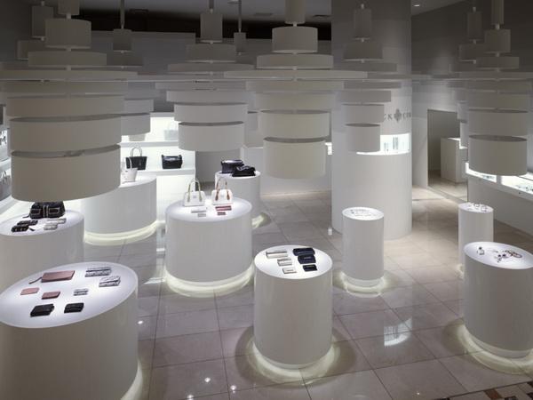 英国皮具品牌Patrick Cox店面设计 皮具店设计 店面设计 专卖店设计