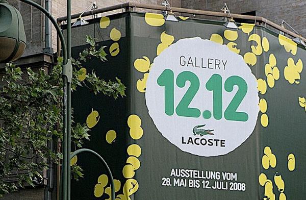 法国时尚品牌LACOSTE展示活动VI设计 VI设计