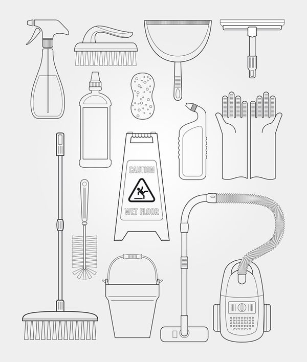 Scheftor清洁公司VI设计 VI设计