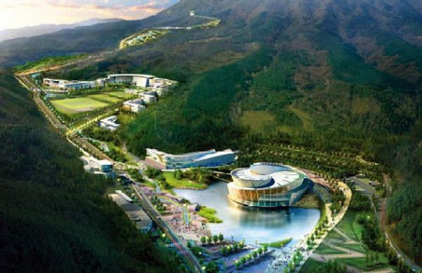 韩国茂朱跆拳道公园 园林设计 园林设计