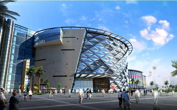 中东最大赛马场迪拜Meydan公园 景观设计 景观设计