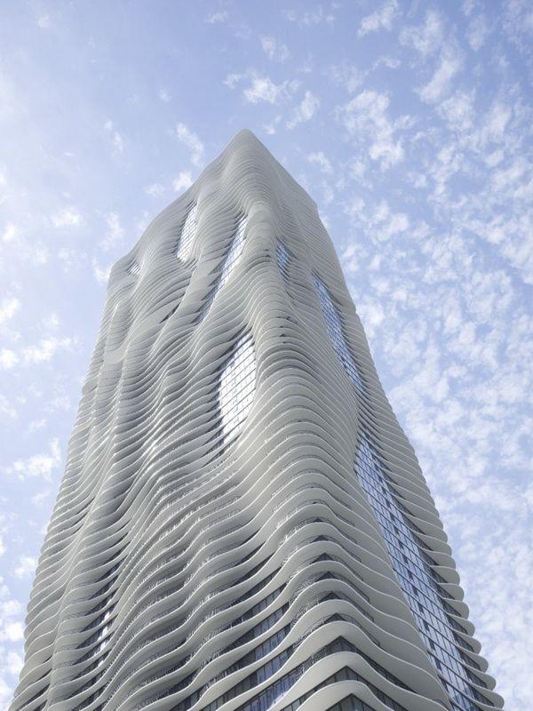 如天工开物般的芝加哥Aqua Tower  建筑设计 办公楼设计 公寓设计