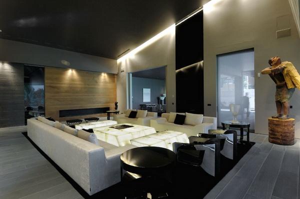 马德里豪华住宅 室内设计