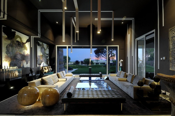 西班牙豪华住宅 室内设计