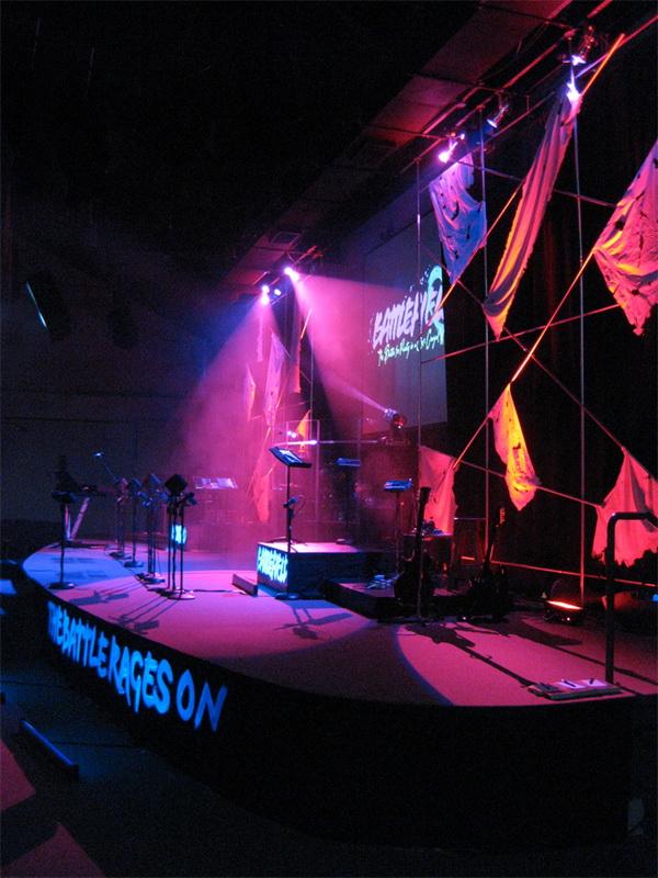 Jordin Sparks演唱会舞美设计 舞美设计