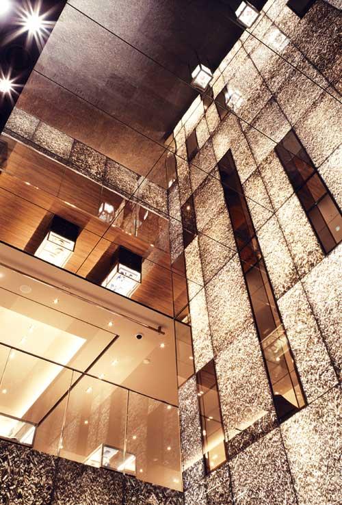 美国珠宝品牌蒂芙尼(Tiffany)东京专卖店设计 珠宝店设计 旗舰店设计 奢侈品店设计