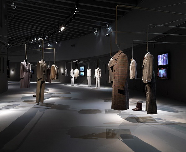 意大利奢侈品牌杰尼亚(Zegna)创立百年回顾展 展览设计 意大利 展馆设计 展览设计 奢侈品店设计