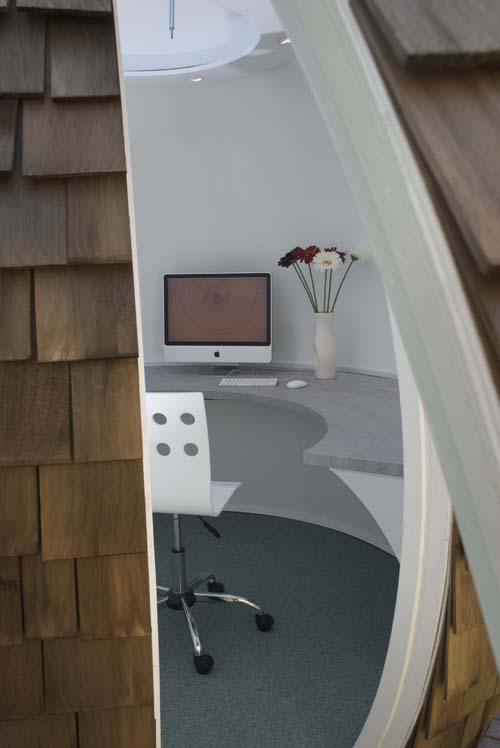 是巨大的椰子还是宇宙飞船? 办公空间设计 办公空间设计 办公室设计