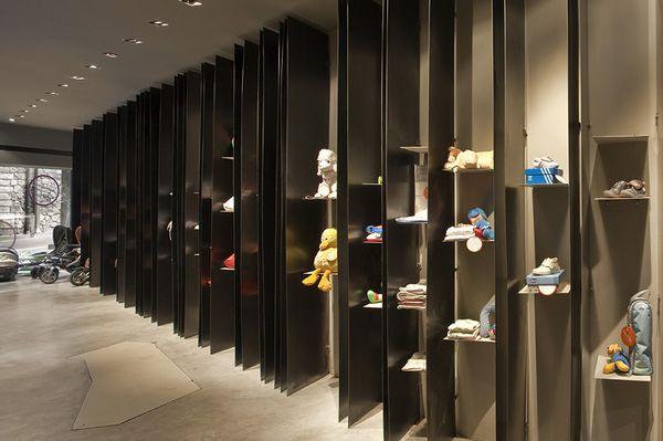Món Petit婴儿用品店 店面设计 玩具店设计 店面设计 专卖店设计