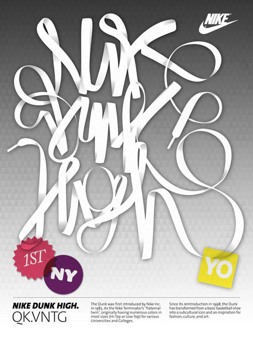看NIKE如何玩转创意 海报设计 海报设计