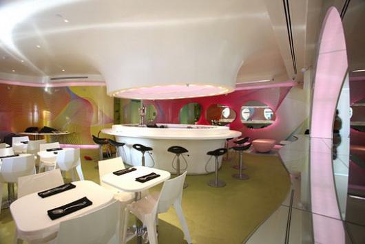纽约Kurve餐厅 商业空间设计 餐厅设计 商业空间设计